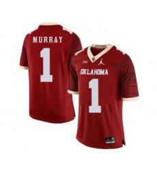 Oklahoma Sooners 1 Kyler Murray Red 47 Game Winning Streak College Football Jersey